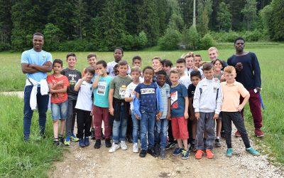 Juniors E et D au tournoi du FC  Tavannes Tramelan les 3 et 4 juin.