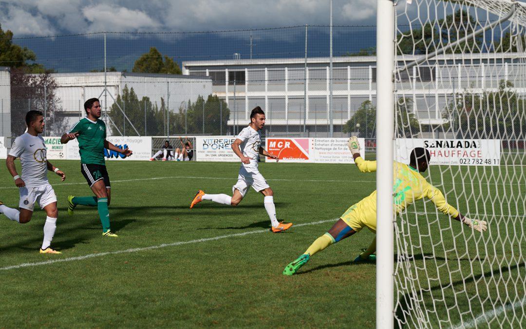 FC Onex – Olympique de Genève FC : 0 – 7
