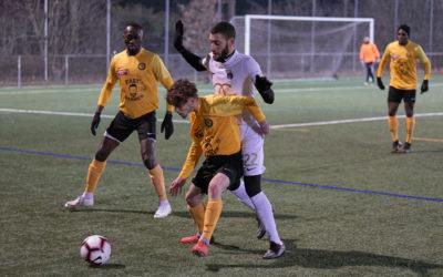 Premier match de préparation