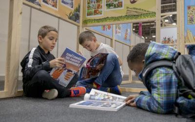 [Tribune de Genève] – Les jeunes de l'Olympique Genève au Salon du livre