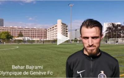 [Tribune de Genève] – Behar Bajrami montre la voie à l'OG dans le derby