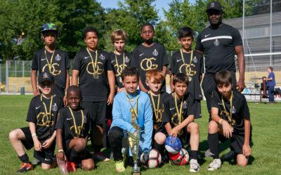 Les jeunes de l'OG à la Meyrin Cup